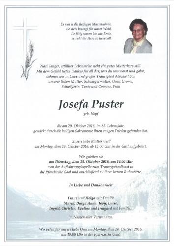 Josefa Puster