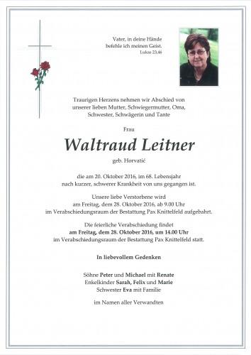 Waltraud Leitner