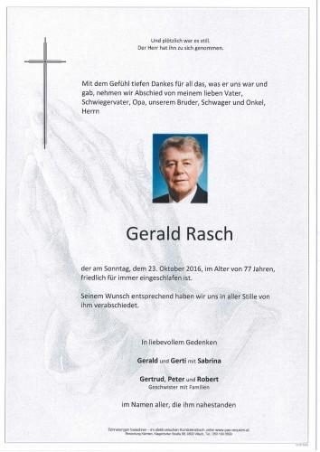 Gerald Rasch