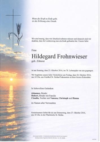 Hildegard Frohnwieser