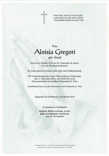 Aloisia Gregori