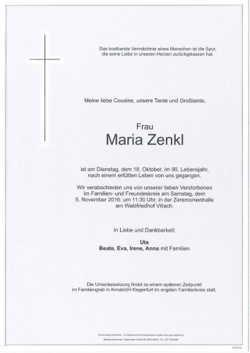 Maria Zenkl
