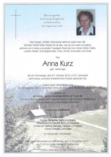 Anna Kurz