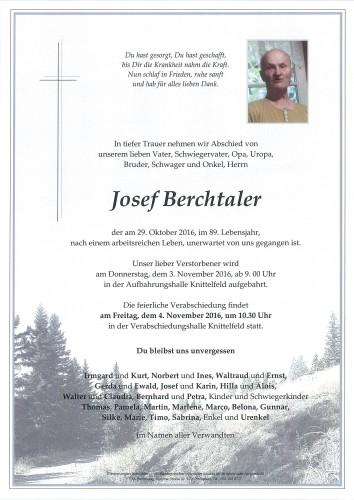Josef Berchtaler