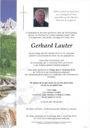 Gerhard Lauter