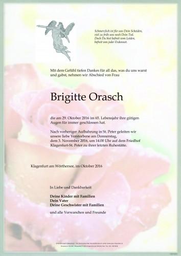 Brigitte Orasch