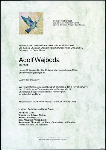 Adolf Wajboda