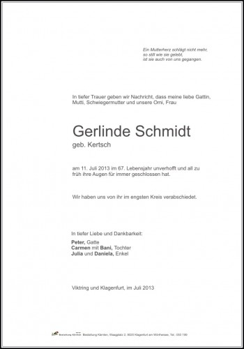 Gerlinde Schmidt