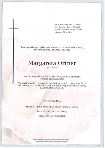 Margareta Ortner