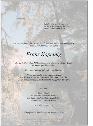 Franz Kopeinig