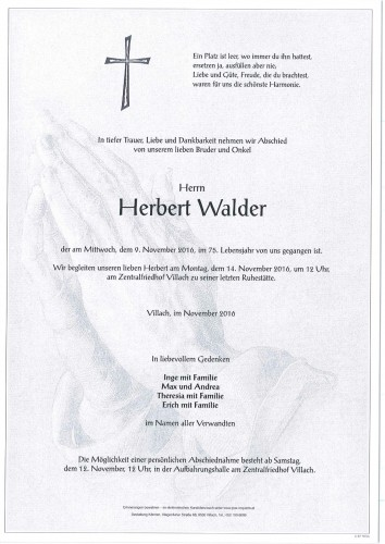 Herbert Walder