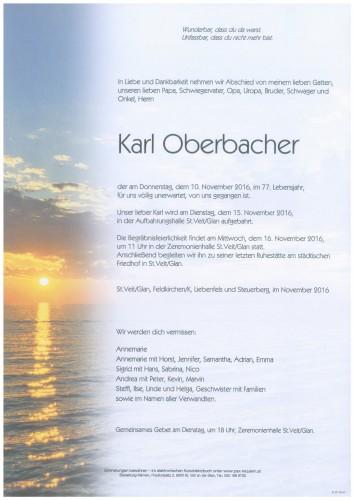 Karl Oberbacher