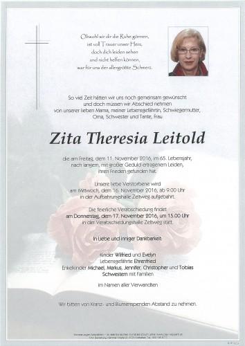Zita Theresia Leitold