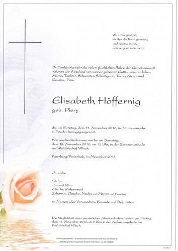 Elisabeth Höffernig