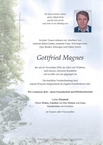 Gottfried Magnes
