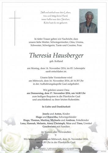Theresia Hausberger