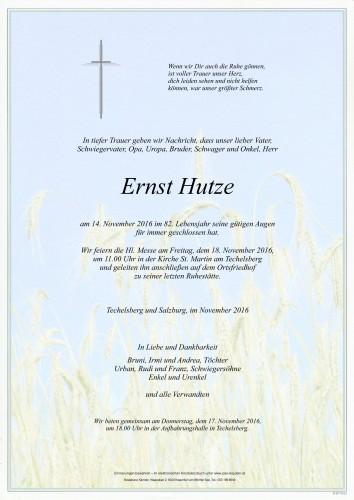 Ernst Hutze