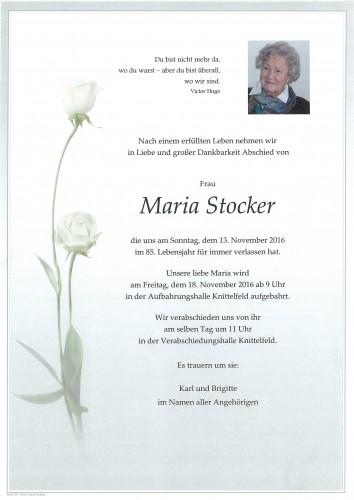 Maria Stocker