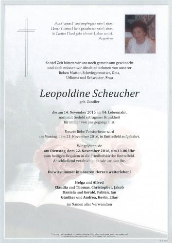 Leopoldine Scheucher