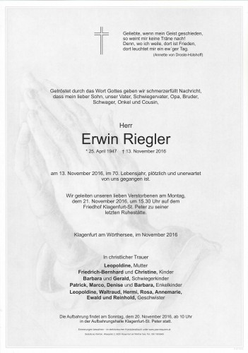 Erwin Riegler