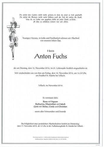 Anton Fuchs