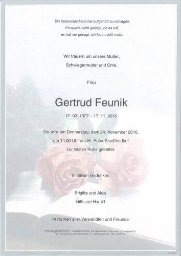 Gertrud Feunik