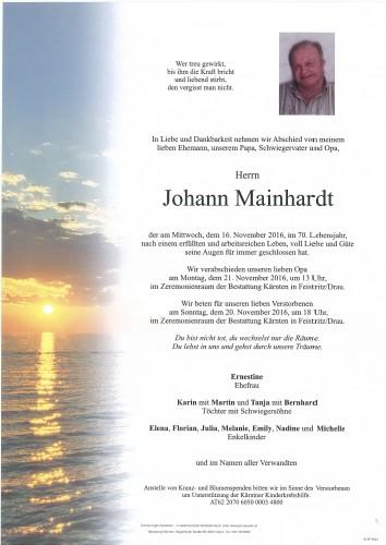 Johann Mainhardt