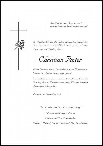 Christian Pinter