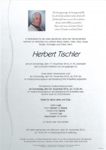 Herbert Tischler