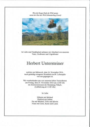 Herbert Untersteiner