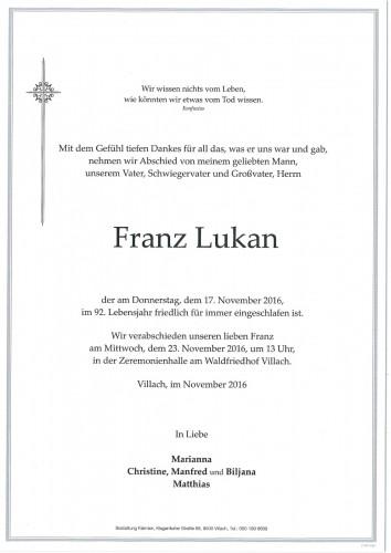 Franz Lukan