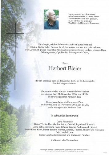 Herbert Bleier