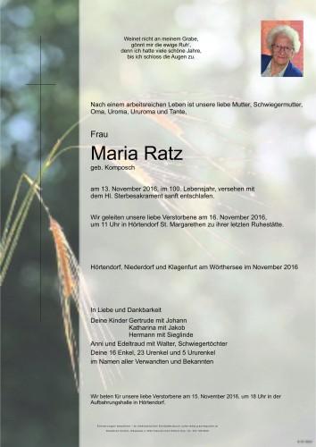 Maria Ratz