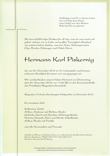Hermann Karl Piskernig