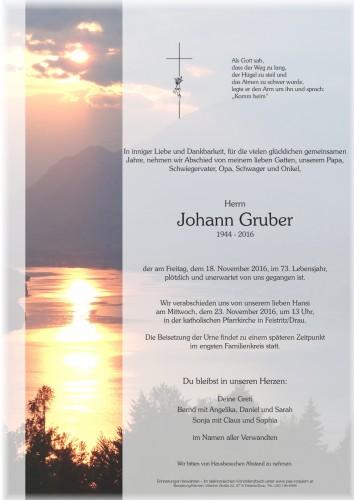 Johann Gruber