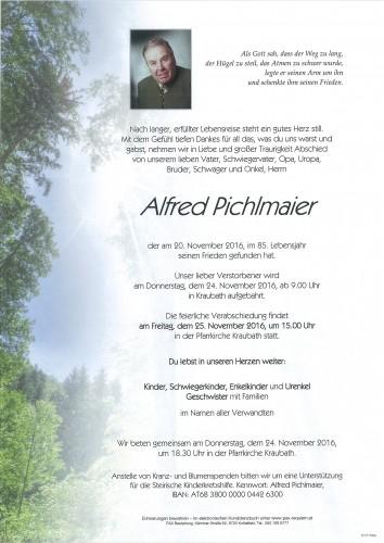 Alfred Pichlmaier