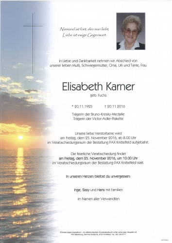 Elisabeth Karner