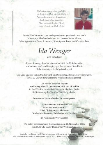 Ida Wenger