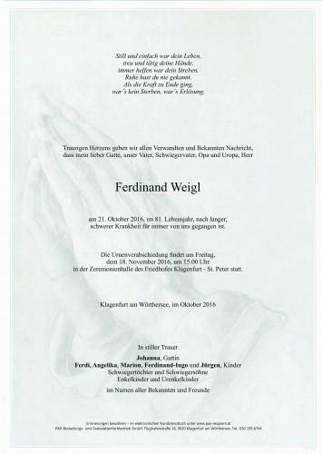 Ferdinand Weigl