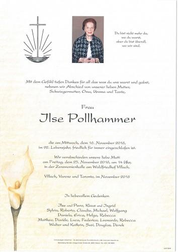 Ilse Pollhammer