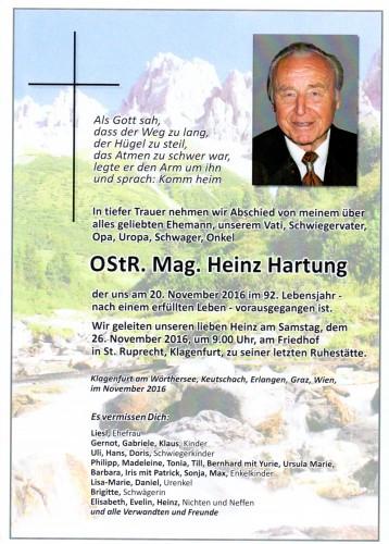 Ostr. Mag. Heinz Hartung