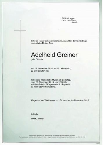 Adelheid Greiner