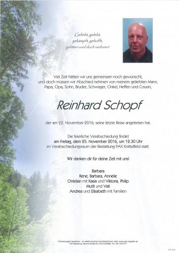 Reinhard Schopf