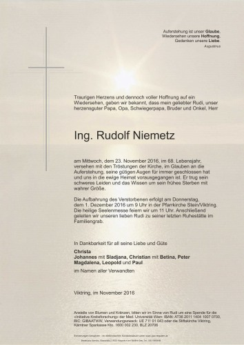 Ing. Rudolf Niemetz