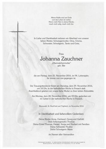 Johanna Zauchner