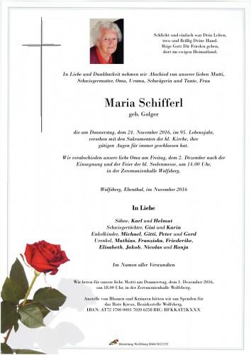 Maria Schifferl