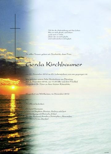 Gerda Kirchbaumer