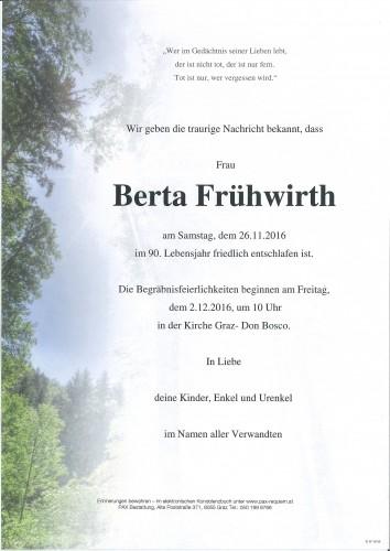 Berta Frühwirth