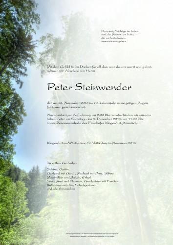 Peter Steinwender