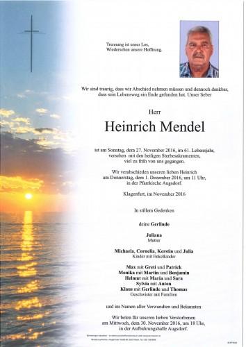 Heinrich Mendel